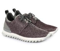 Sneakers Mesh Kontrast Rosé/grey