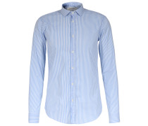 Slim-Fit Hemd New-Kent-Kragen Striped