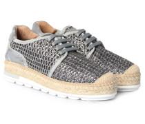 Espadrille-Sneakers Nimes mit Glitzer-Finish