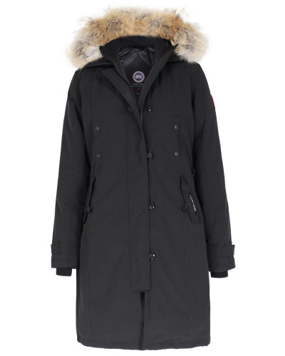 canada goose damen canada goose daunenmantel kensington parka black damen farbe schwarz reduziert. Black Bedroom Furniture Sets. Home Design Ideas