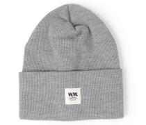 Mütze Gerald Aus Merinowolle Grey Melange