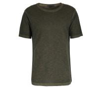 Baumwoll T-shirt Caleb Khaki