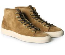Veloursleder-Sneaker Tanino High-Top Smog