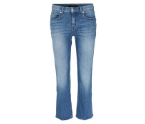 Flared Jeans Greet Mittelblau
