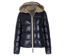 Light-daunenjacke Thia Mit Kapuze Navy