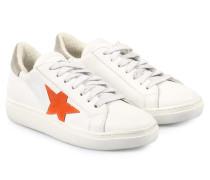 Sneakers Vitello Bianco Weiß