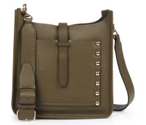 Ledertasche Small Unlined Feed Bag Olive