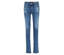 Straight Leg Jeans Harper Mid Blue