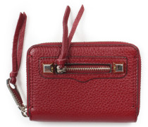 Geldbörse Mini Regan Zip Wallet Bordeaux