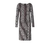 Kleid Mit Reptil-print