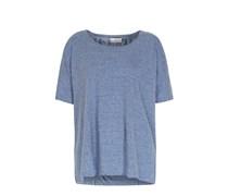 Oversize-shirt Mit Seitlichen Schlitzen