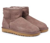 Lammfell-Boots Classic Mini Stormy Grey