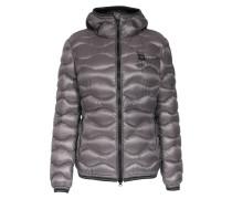 Light-Daunenjacke mit gewellter Steppung Grey