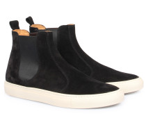 Slip-on Veloursleder-sneakers Tanino Nero