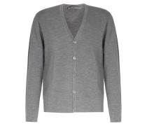 Full Milano Strick-cardigan Drizzle Grey
