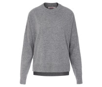 Pullover im Merino-Cashmere-Mix Grey Mel