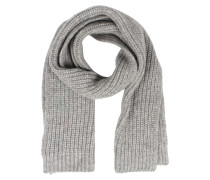 Schal Aus Royal Baby Alpaka Heather Grey Melange
