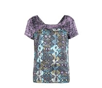BOSS ORANGE Shirt Kapatta Damen Farbe: bunt gemustert