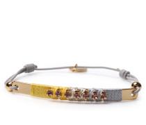 Armband Juice Mit Goldenen Details Grau
