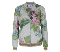 Sweatjacke Yomi The Bomber Tropical