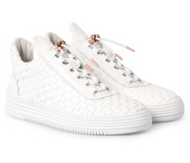 Sneakers Low Top All Woven Twist White