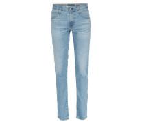 Tellis Slim-Fit Denim Jeans Hellblau