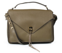 Ledertasche Dareen Messenger Olive