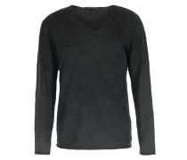 Baumwoll-langarmshirt Black