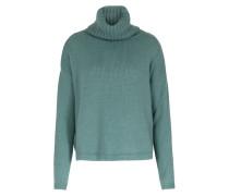 Rollkragen-pullover Im Merino-alpaka-mix Sea Green
