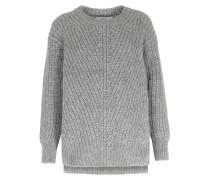 Grobstrick-pullover Aus Royal-baby-alpaka-mix