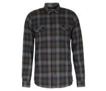 Kariertes Flannel-Hemd Truffle