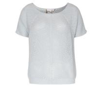 Kurzarm-Pullover mit Lurex-Details