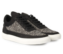 Sneakers Low Top Tweed Black