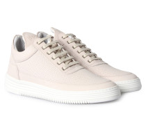 Sneaker Low Top Perforated Tone Offwhite