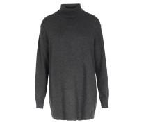 Rollkragen-pullover Im Woll-cashmere-mix Anthrazit