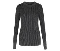 Pullover Mit Silbernen Lurex-details
