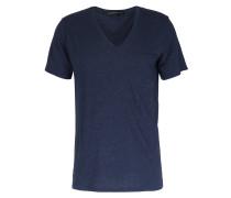 V-shirt Mit Dezenter Brusttasche