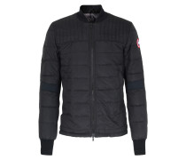 Light-daunen Jacke Mit Steppung Black