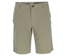 Baumwoll-Shorts in Khaki