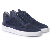 Sneakers Low Top Fundament Mesh Navy