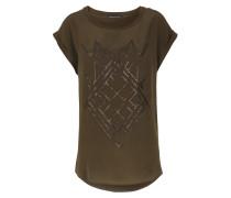 Shirt Lore Mit Seide Und Metallic-details