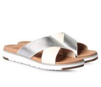Sandalette Kari Silber