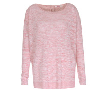 Pullover Im Leinen-viskose-mix Light Strawberry
