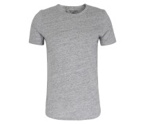 Basic Baumwoll Shirt Gris Chine