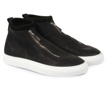 Sneakers mit Zipper Fontesi Kudu Black