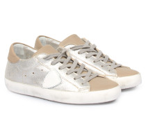 Sneakers Classic Low Metallic Beige/silver