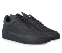 Sneakers Low Top Ton Sur Ton Navy