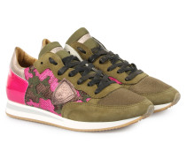 Sneakers Tropez Low Camouflage Pink