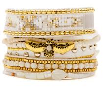 Armband White/gold