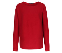 Pullover Aus Baumwoll-cashmere-mix Kirschrot